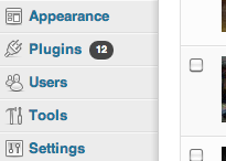 wordpress sidebar menu How to set up the visual rich editor in wordpress